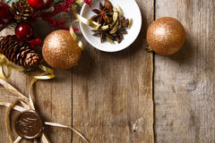Christmas spice mix Royalty Free Stock Photos