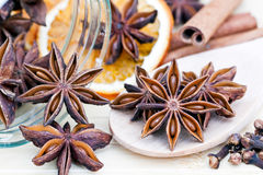 Christmas Spices Stock Images