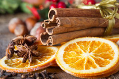 Christmas spices Royalty Free Stock Photography