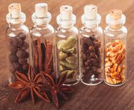Christmas spices Royalty Free Stock Images
