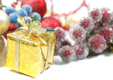 Christmas spirit Stock Images