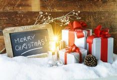 Christmas spirit Stock Image
