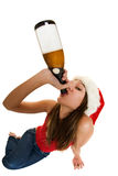 Christmas spirits Royalty Free Stock Images