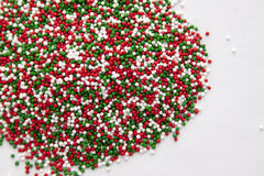Christmas Sprinkles Royalty Free Stock Photo
