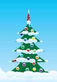 Christmas Spruce Royalty Free Stock Photo