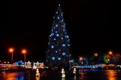 Christmas square Royalty Free Stock Image