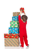 Christmas Stack Royalty Free Stock Photography