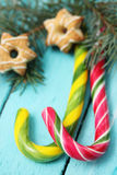Christmas staff, candies Royalty Free Stock Photo