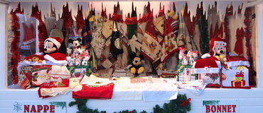 Christmas Stall Royalty Free Stock Photography