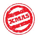 Christmas Stamp Royalty Free Stock Photos