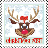 Christmas Stamp Stock Images