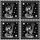 Christmas stamps Royalty Free Stock Photography