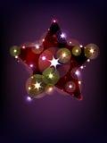 Christmas star Royalty Free Stock Photography