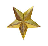 Christmas star. Against a white background Royalty Free Stock Images