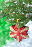 Christmas star. Royalty Free Stock Photo
