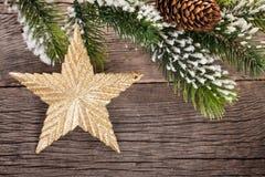 Christmas star Royalty Free Stock Photos