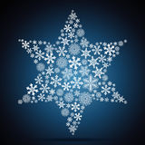 Christmas star Stock Photos