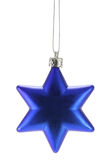 Christmas star. Isolated over a white background Stock Images