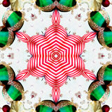 Christmas Star. Kaleidoscopic Christmas star vector illustration