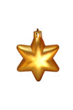 Christmas star. On white background Stock Photography