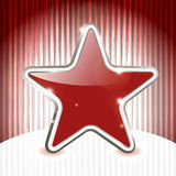Christmas star on abstract  background Stock Photos