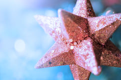 Christmas star - Abstract - Close up Stock Images