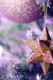 Christmas star - Abstract colors - Cut out Stock Photos