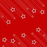 Christmas star background Stock Image