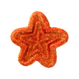Christmas Star Cookie Royalty Free Stock Photography