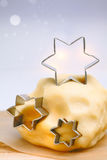 Christmas star cookies Royalty Free Stock Image