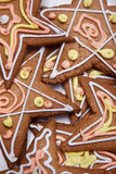 Christmas star cookies Royalty Free Stock Photography