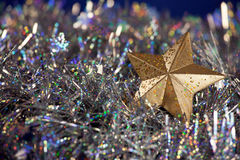 Christmas star decoration Royalty Free Stock Images