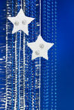 Christmas star decoration Royalty Free Stock Image