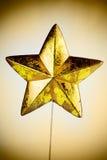 Christmas Star Decoration Royalty Free Stock Photo