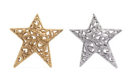Christmas star decoration piece Royalty Free Stock Images