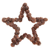 Christmas Star Decoration Stock Images