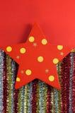 Christmas star decorations Royalty Free Stock Photos