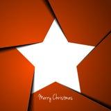 Christmas star Royalty Free Stock Photo