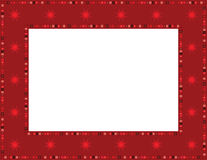 Christmas Star Frame Royalty Free Stock Photography
