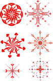 Christmas star illustration Stock Photography