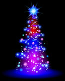 Christmas star. Illustration of Christmas star beckground Stock Image
