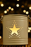 Christmas star light Royalty Free Stock Photo