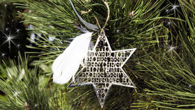 Christmas Star - Merry Christmas Royalty Free Stock Images