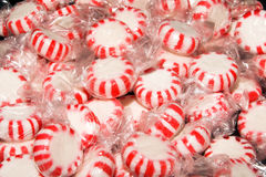 Christmas star mints Stock Image