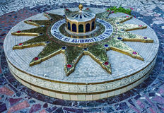 Christmas star in the Monastery of the Holy Dormition, Odessa, U Stock Photos
