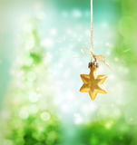 Christmas star ornament Royalty Free Stock Photo