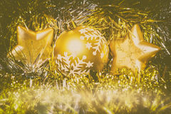 Christmas Star Ornament Royalty Free Stock Photography
