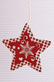 Christmas Star ornament Stock Images