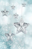 Christmas Star Ornaments Royalty Free Stock Photo