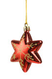 Christmas star shape toy Stock Image